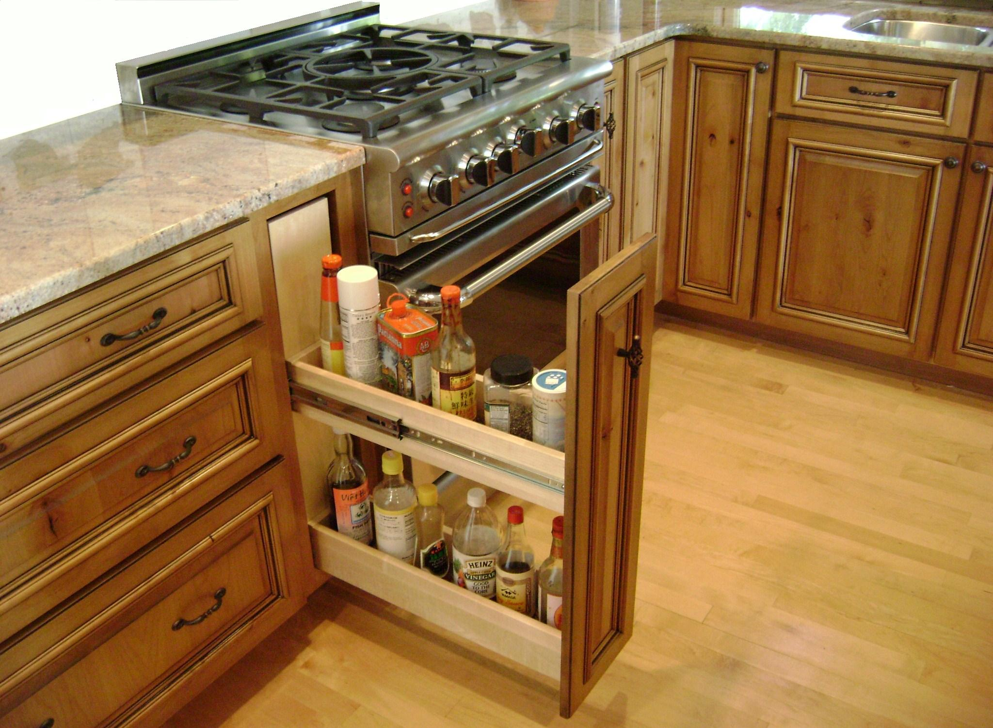 Kitchen storage solutions camano custom 39 s blog for Cabinet storage ideas kitchen