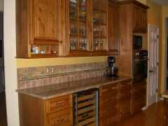 Knotty Alder Custom Kitchen