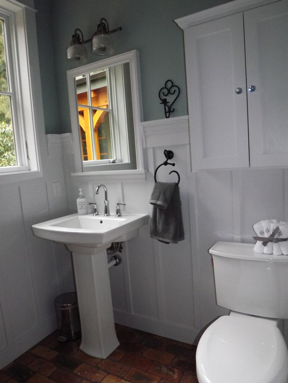 Wainscoting In A Powder Room Camano Custom Cabinets Blog