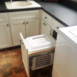 White Shaker Laundry