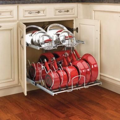 Storage for Pots &Pans