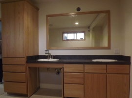 Wheelchair accessible Vanity