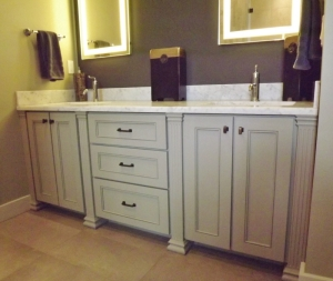 Custom Bathroom Vanity - Bellingham WA