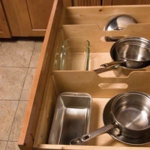 In cabinet cookware