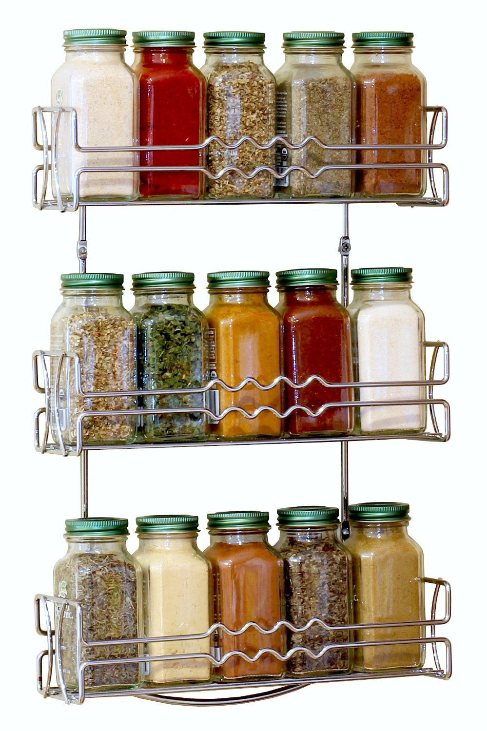 Door Mounted Wire Spice Rack  This Door Mounted Wire Spice Rack