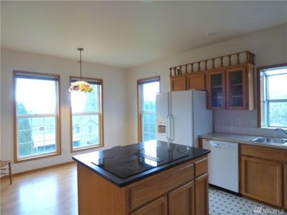 Kitchen Before- Camano Island