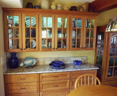 Custom Cherry Cabinets – Before and After