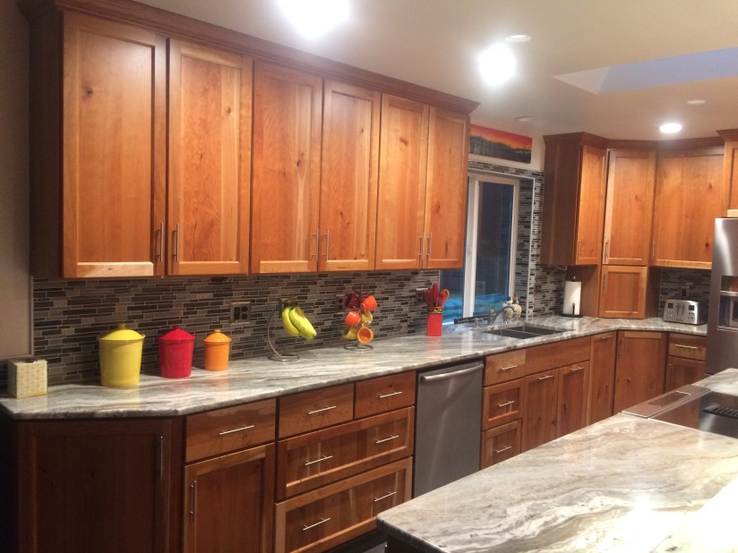 Cherry Custom Cabinets Stanwood