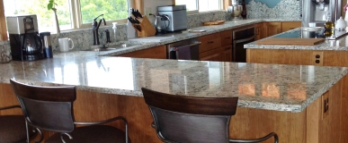 Kitchen Remodel -Cherry Cabinetry – Before and After