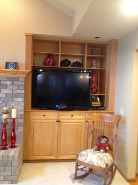 Entertainment Center Before 2